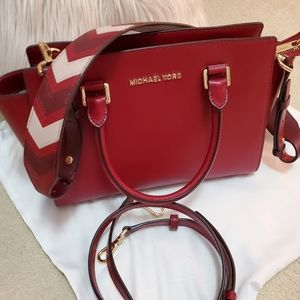 Michael Kors Leather Satchel